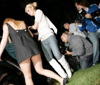 Britney Partying Without Panties