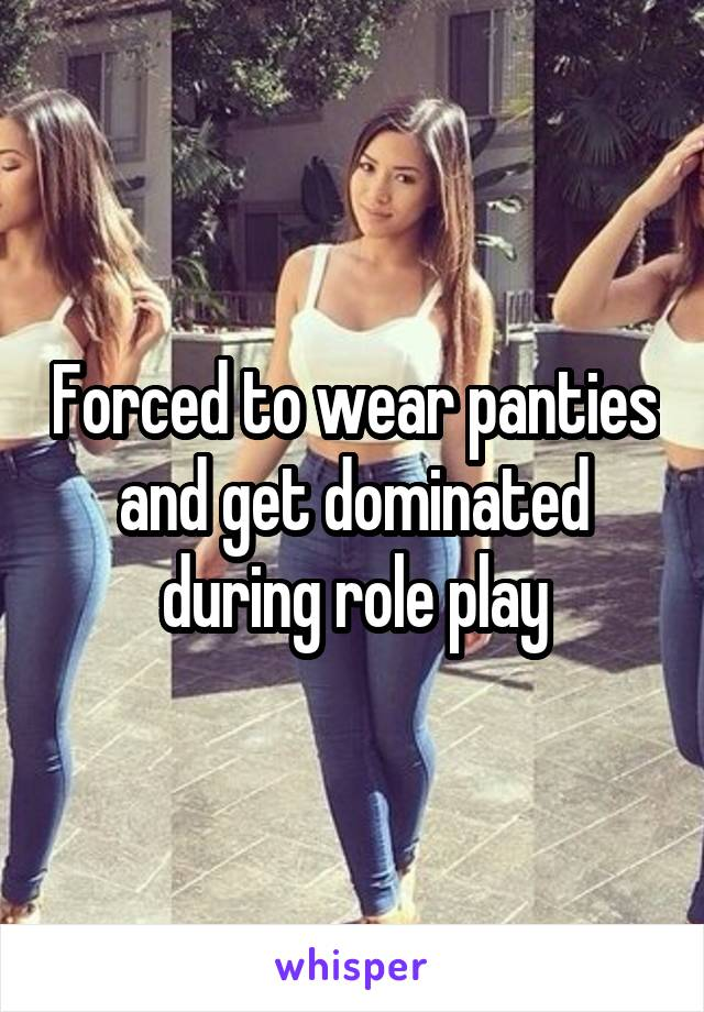 Forced To Wear Panties Images